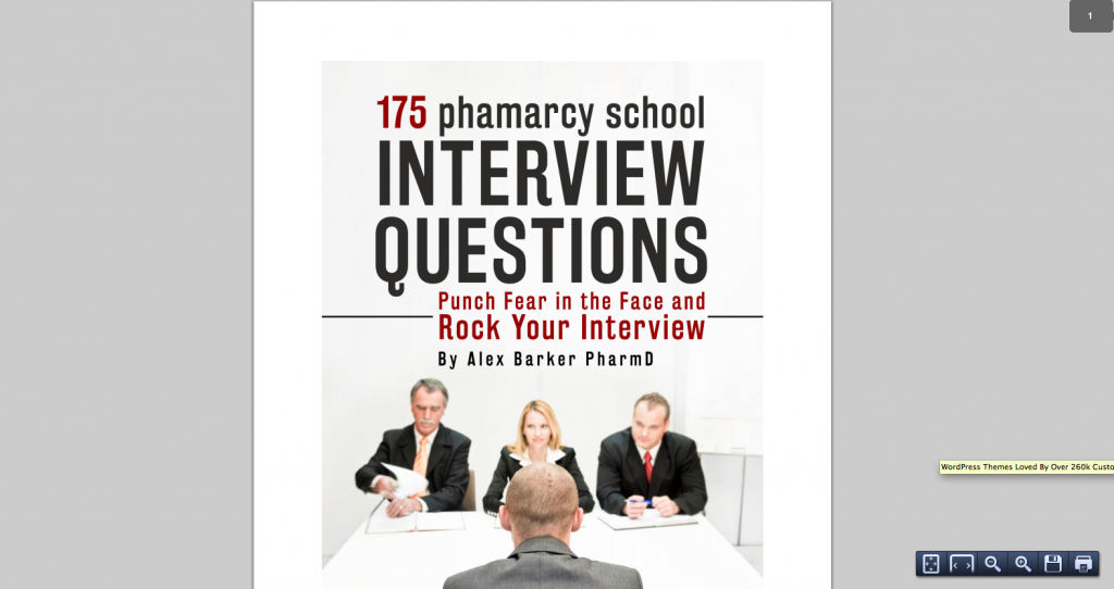 essay questions for pharmacy school interview Post pharmacy school related questions elsewhere: question about the written part of the pharmacy interview process.